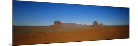 Artist's Point, Monument Valley, Arizona, USA-Walter Bibikow-Mounted Photographic Print