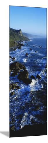 Rocky Coastline in Evening Twilight Near Westport, Redwoods National Park, California, USA-Paul Souders-Mounted Photographic Print