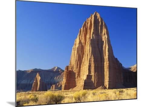 Formation of Plateau in Capitol Reef National Park, Lower Cathedral Valley, Colorado Plateau, Utah-Scott T^ Smith-Mounted Photographic Print
