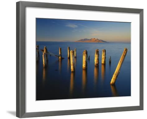 Great Salt Lake, Saltair, Great Basin, Utah, USA-Scott T^ Smith-Framed Art Print
