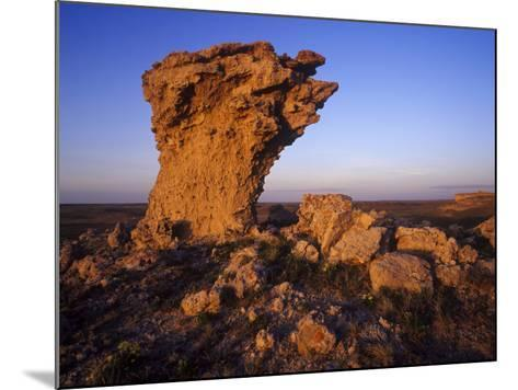 Rock Outcroppings in the Agate Fossil Beds National Monument, Nebraska, USA-Chuck Haney-Mounted Photographic Print