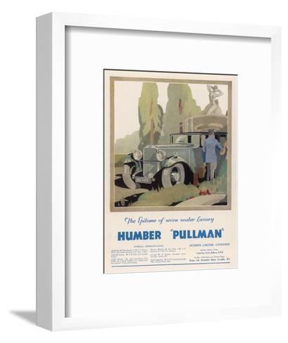 Advertisement Humber Pullman--Framed Art Print
