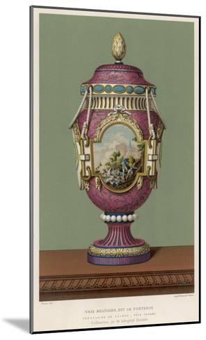 A Porcelain Vase from Sevres, France, in the Traditional Over-The-Top French Style--Mounted Giclee Print