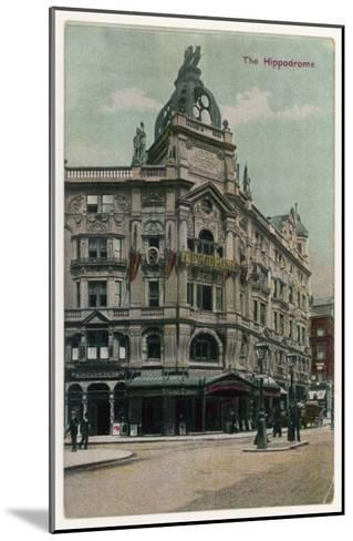 An Exterior View of the Hippodrome Theatre, London--Mounted Giclee Print