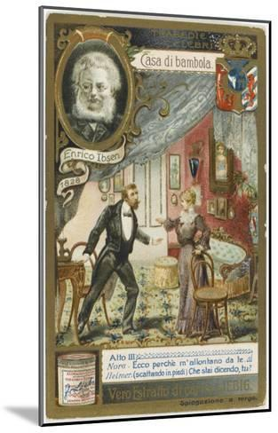 A Scene from the Play by Henrik Ibsen--Mounted Giclee Print