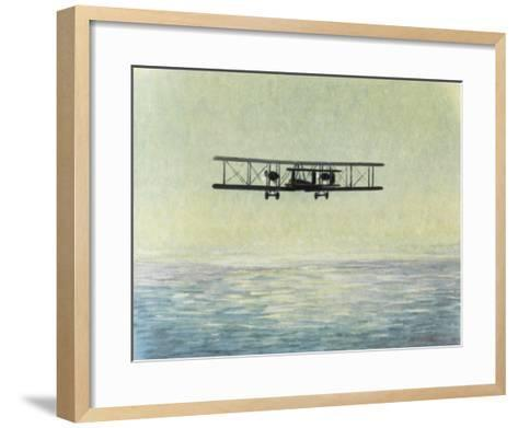 Alcock and Brown--Framed Art Print