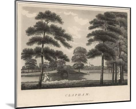 A Picturesque View of Clapham Common--Mounted Giclee Print