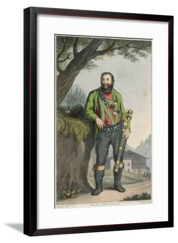 Andreas Hofer--Framed Art Print