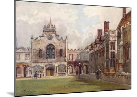 Cambridge: Peterhouse College First Court--Mounted Giclee Print