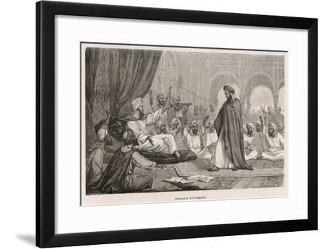 Averroes Condemned--Framed Art Print