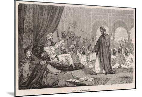 Averroes Condemned--Mounted Giclee Print