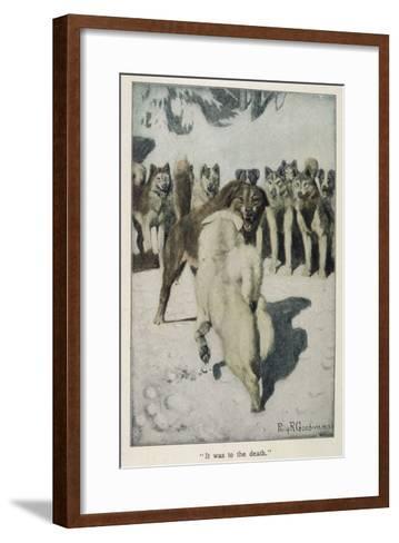 Call of the Wild--Framed Art Print