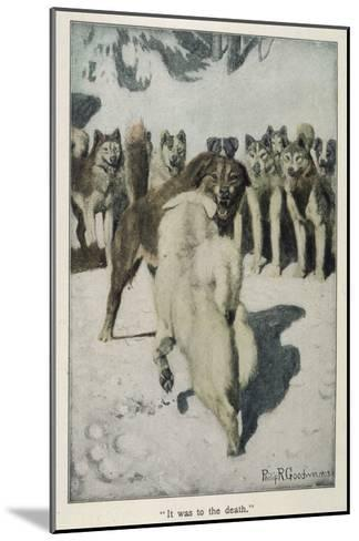 Call of the Wild--Mounted Giclee Print