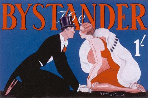 Bystander Masthead by Leon Heron, 1930--Stretched Canvas Print