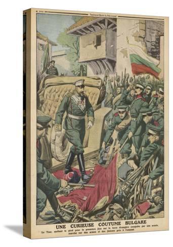 Bulgaria, Sword Custom--Stretched Canvas Print