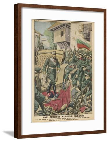 Bulgaria, Sword Custom--Framed Art Print