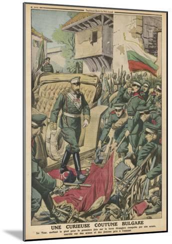 Bulgaria, Sword Custom--Mounted Giclee Print