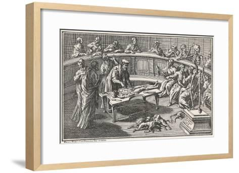 Anatomical Theatre 6--Framed Art Print