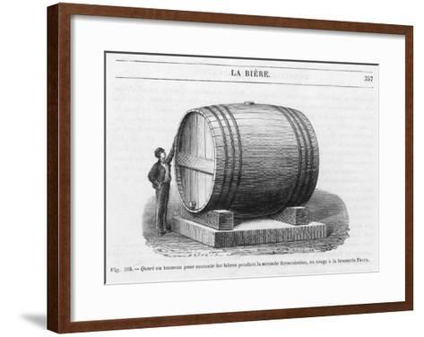 Beer Barrel at Fanta--Framed Art Print