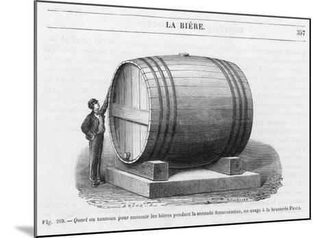 Beer Barrel at Fanta--Mounted Giclee Print