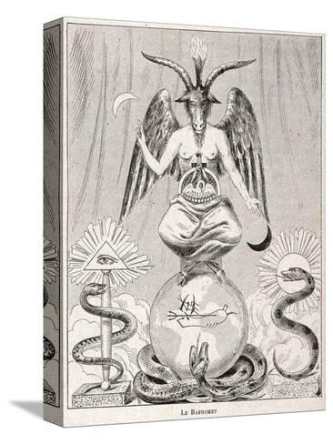 Baphomet--Stretched Canvas Print