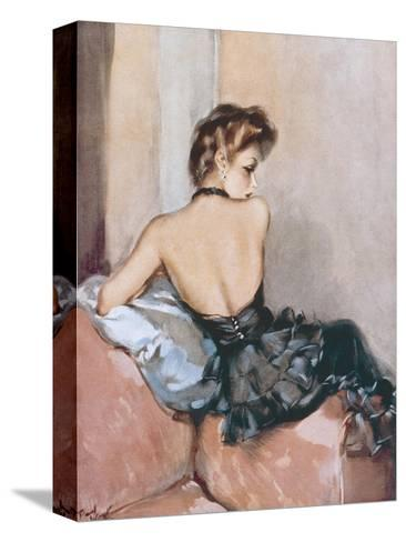 Backward Glance-David Wright-Stretched Canvas Print