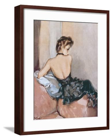 Backward Glance-David Wright-Framed Art Print
