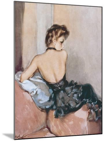 Backward Glance-David Wright-Mounted Giclee Print