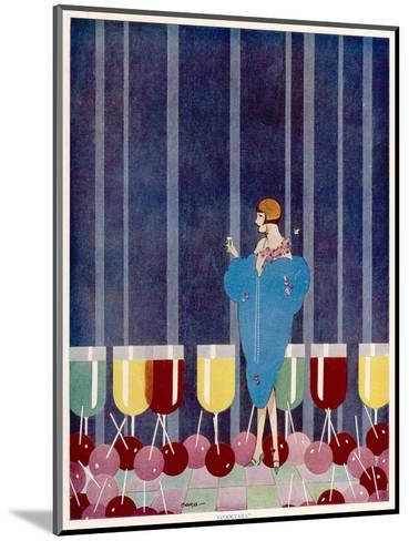 Cocktails by Baird--Mounted Giclee Print