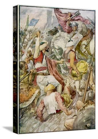Charles Martel--Stretched Canvas Print