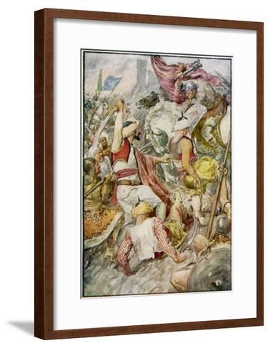 Charles Martel--Framed Art Print