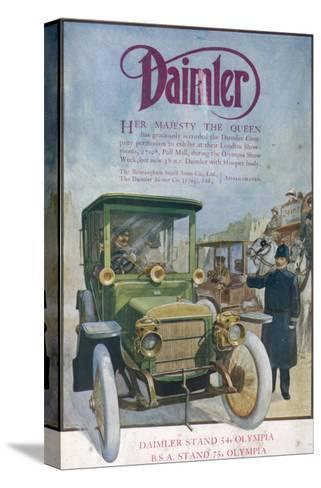 Daimler 1912--Stretched Canvas Print