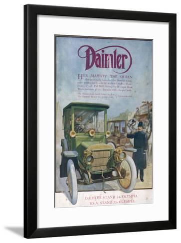 Daimler 1912--Framed Art Print