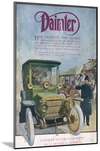 Daimler 1912--Mounted Giclee Print