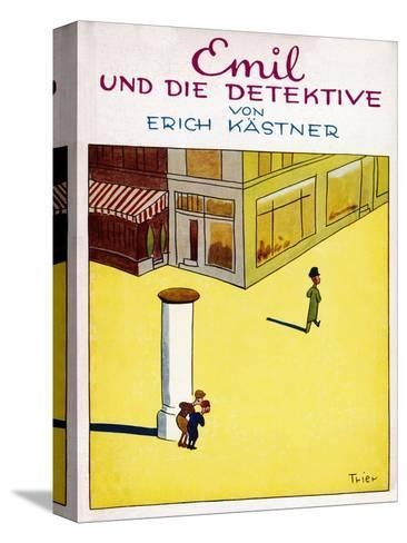 Cover Illustration of the Original Edition of Emil Und Die Detektive--Stretched Canvas Print