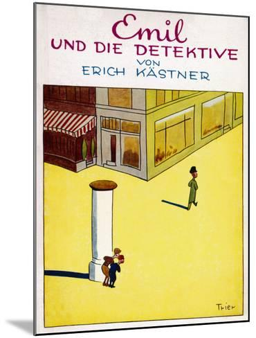 Cover Illustration of the Original Edition of Emil Und Die Detektive--Mounted Giclee Print
