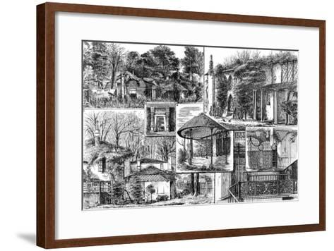 Craven Cottage, Fulham, 1883--Framed Art Print