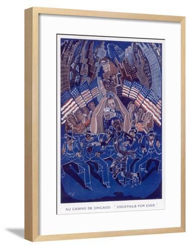Casino De Chicago 1933--Framed Art Print