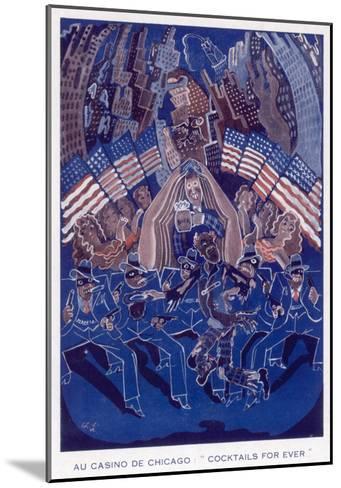 Casino De Chicago 1933--Mounted Giclee Print