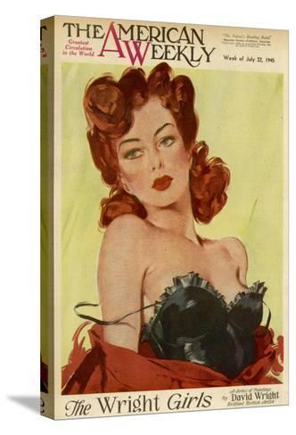 David Wright Pin-Up--Stretched Canvas Print