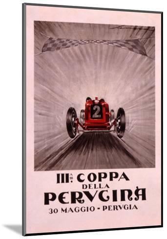 Coppa Della Perugina--Mounted Giclee Print