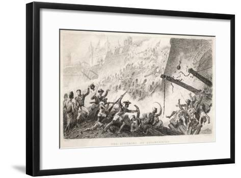 Cornwallis Leads the Storming of Seringapatam--Framed Art Print