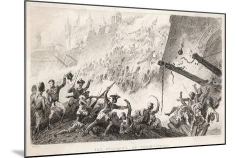 Cornwallis Leads the Storming of Seringapatam--Mounted Giclee Print