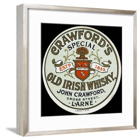 Crawford's Old Irish Whiskey--Framed Art Print