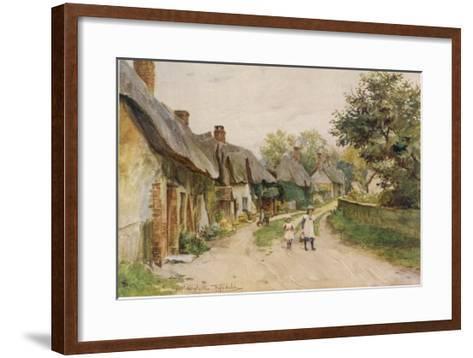 Dorset Scenery--Framed Art Print