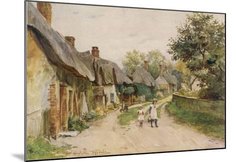 Dorset Scenery--Mounted Giclee Print