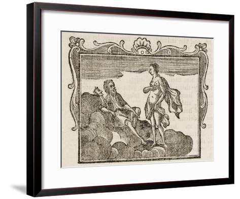 Momus--Framed Art Print