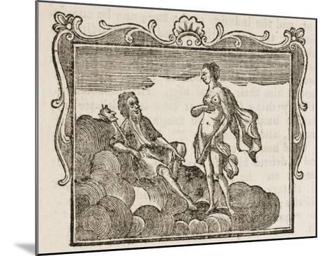 Momus--Mounted Giclee Print