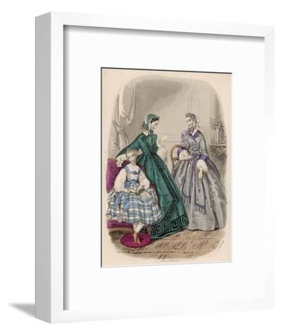 Fashions for Feb. 1861--Framed Art Print