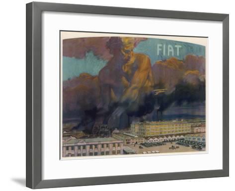 Fiat Factory, Torino--Framed Art Print
